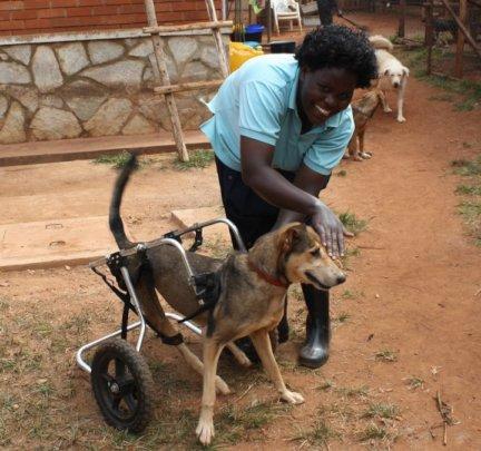 Hope gets wheels!
