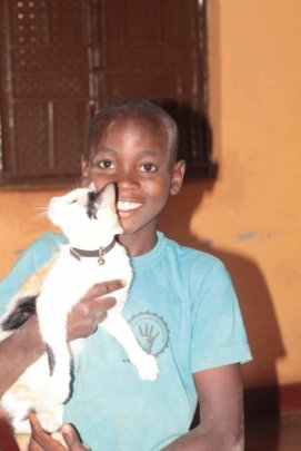 Hope for Orphans adopted 2 kittens