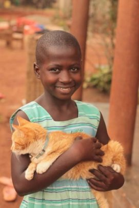 The 2nd kitten adopted by Hope for Orphans