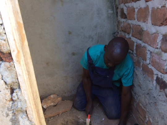 Alex made a lasso & rescued Vodka from the latrine