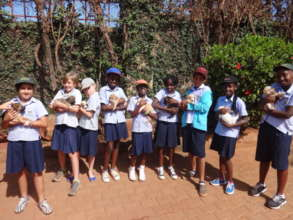 School groups visit The Haven
