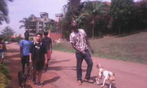 International School-Uganda volunteers
