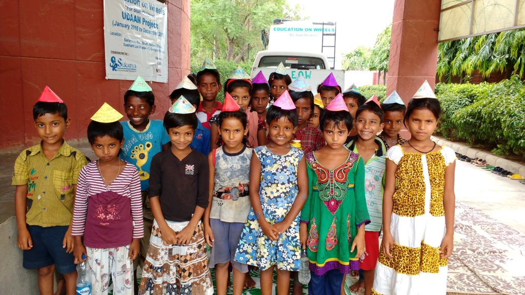 Educating 200 Children in 4 Slums in Delhi