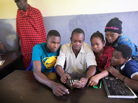 mapping training at SETCO Youthmappers