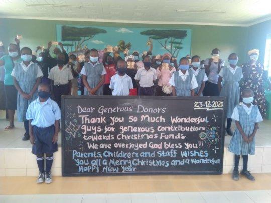 ASANTE SANA - Children thanking sponsors & donors