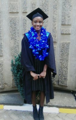 Holiness Graduated from University Last Week