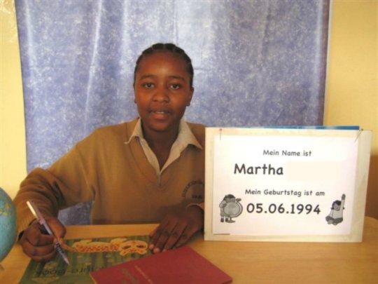 Martha in 2008