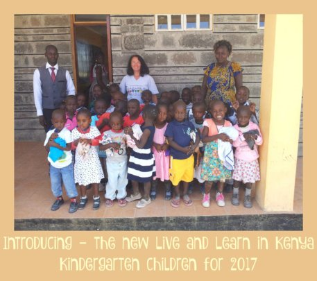 The New Kindergarten Class for 2017