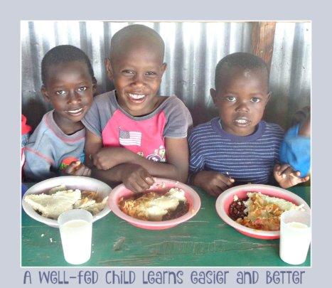 Well-fed Children Learn Better