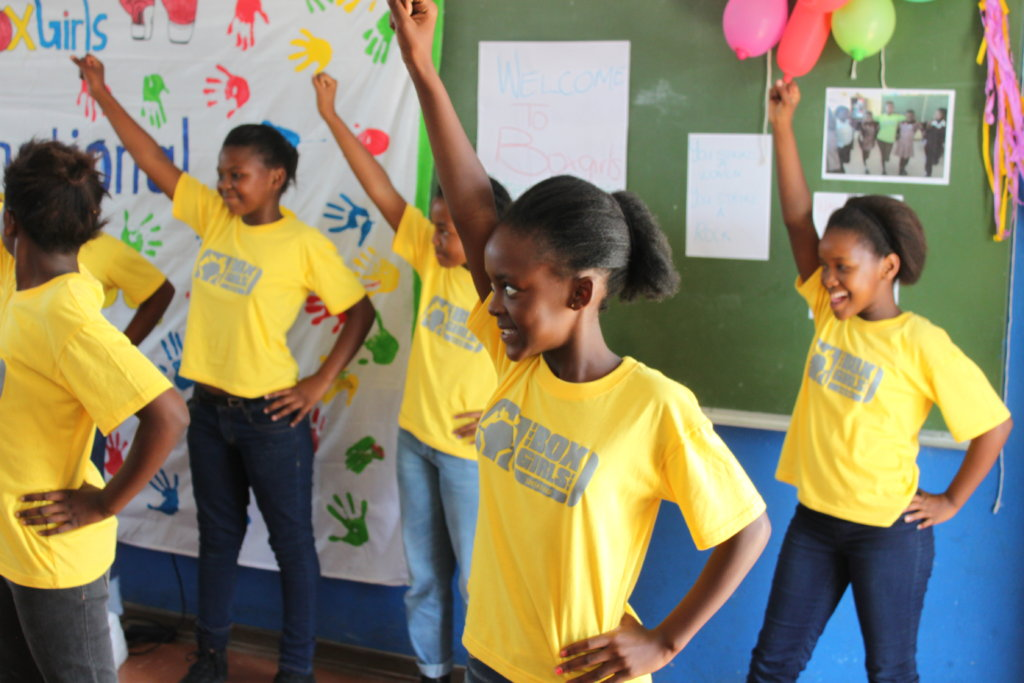 Empower Girls through Sports and Education