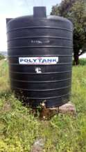 Secure water storage tank