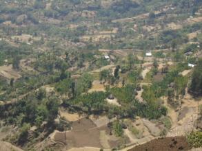 The village of Mela Gagula, in rural Ethiopia