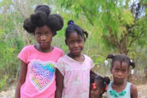Gardie & her sisters are in school thanks to you.