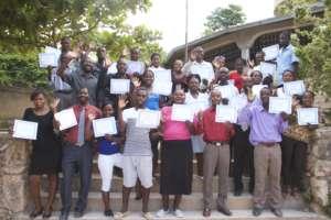 Child Protection Brigade graduates, Dec. 2016.