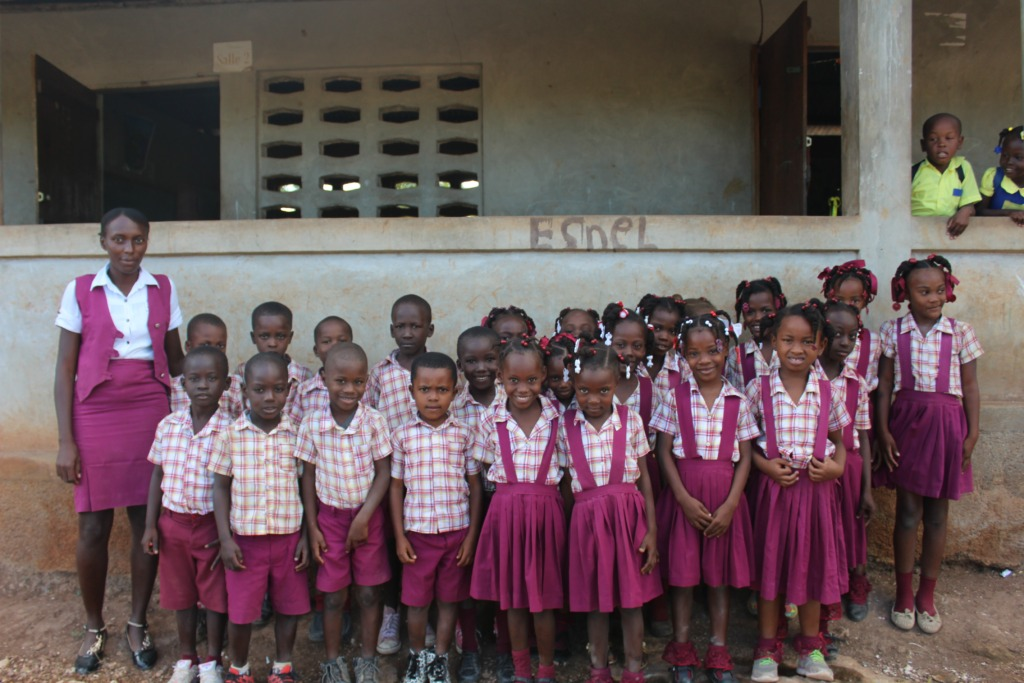 New to the network: Jean Marie School in Tipalmis.