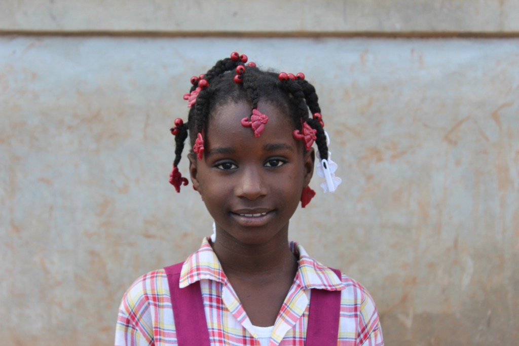 Lo-Richama is a 6th grader at Jean Marie School.