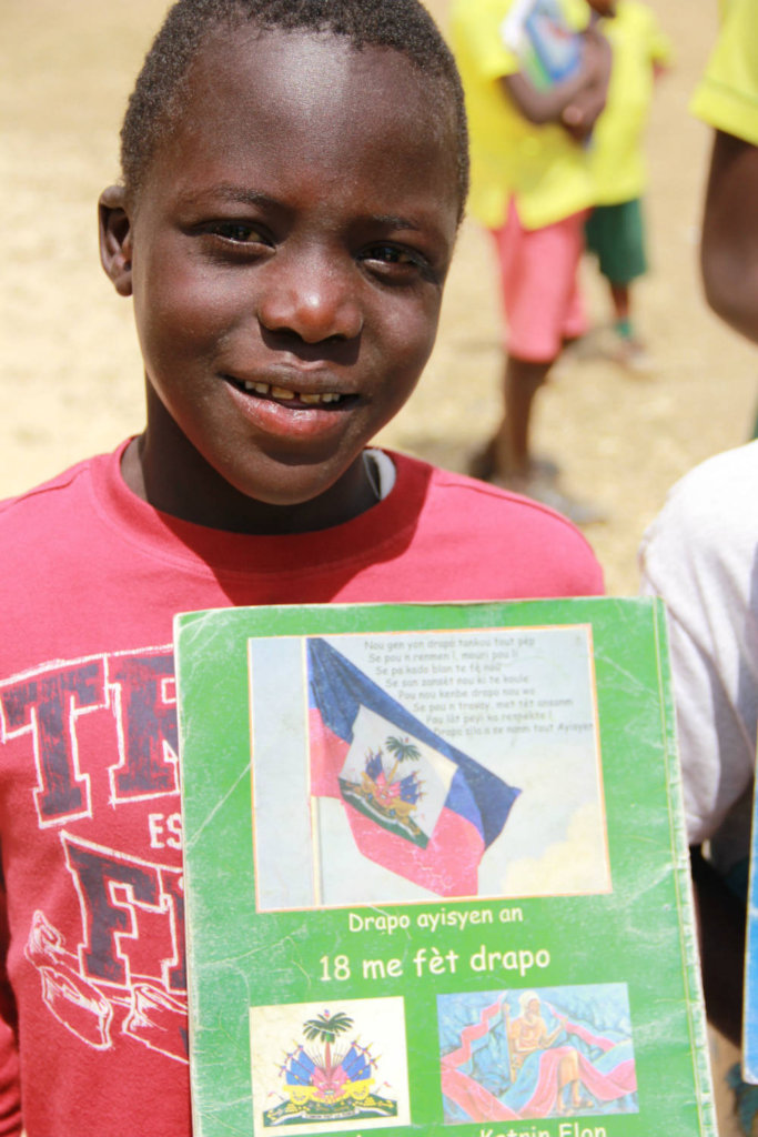 Textbook banks ensure every child has a textbook.