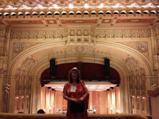 Val at Symphony Hall