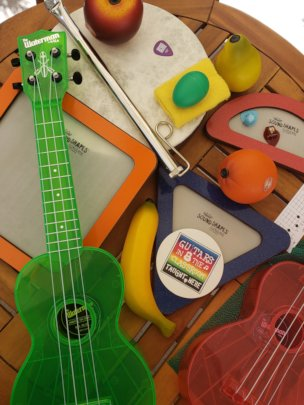 Fun Items in GITC's Adaptive Music Kit!