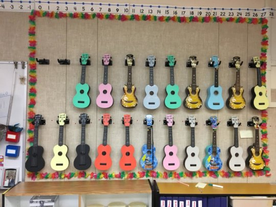 Val's New Music Wall