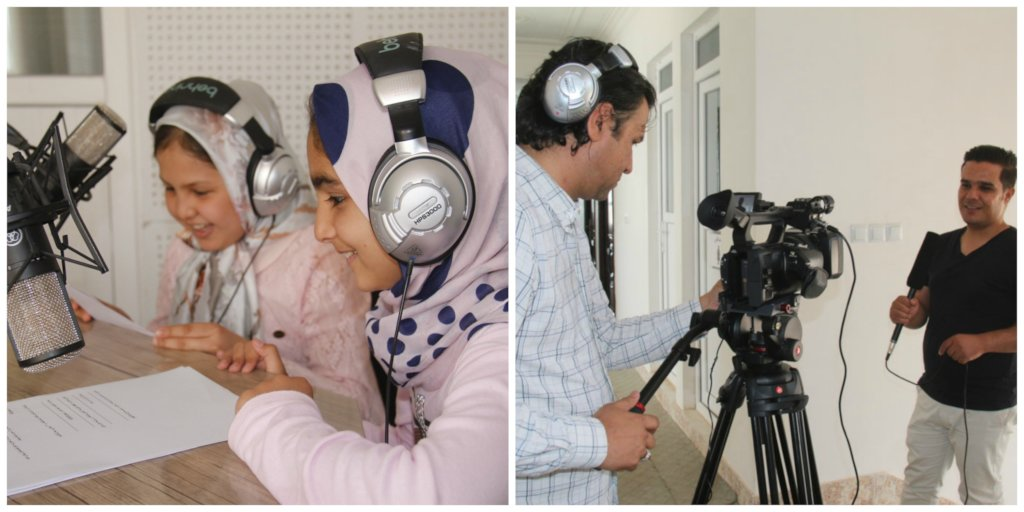 Educate Afghan Women/Children through Television