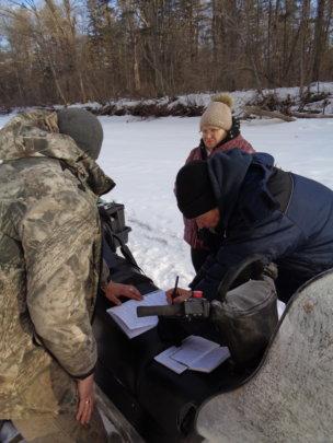 Rangers on a patrol (c) Roman Kozhichev