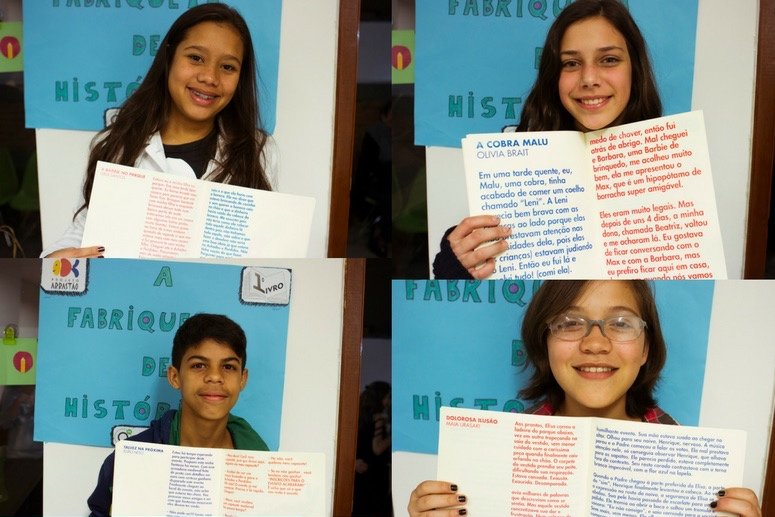Empower 2000+ Kids in Brazil to Share and Write