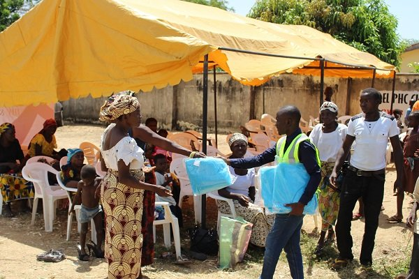 Mobile Health Clinic to 3,000 Nigeria Families
