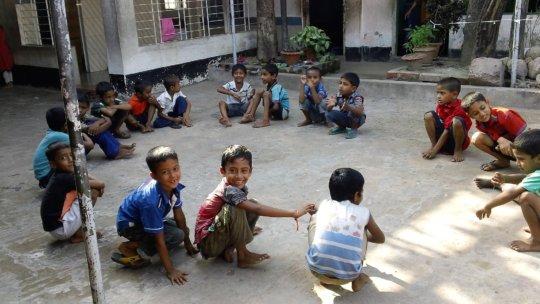 Chittagong Preschool teachers at training session