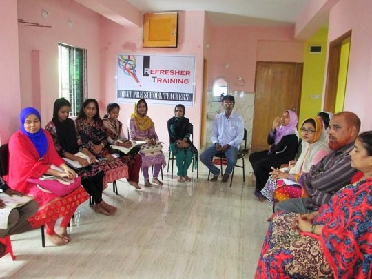 Chittagong Preschool teachers undergo training
