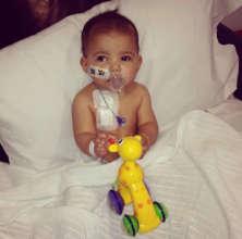 Tyraah in hospital