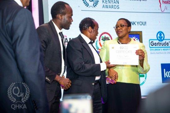 Quality Healthcare Leadership Award