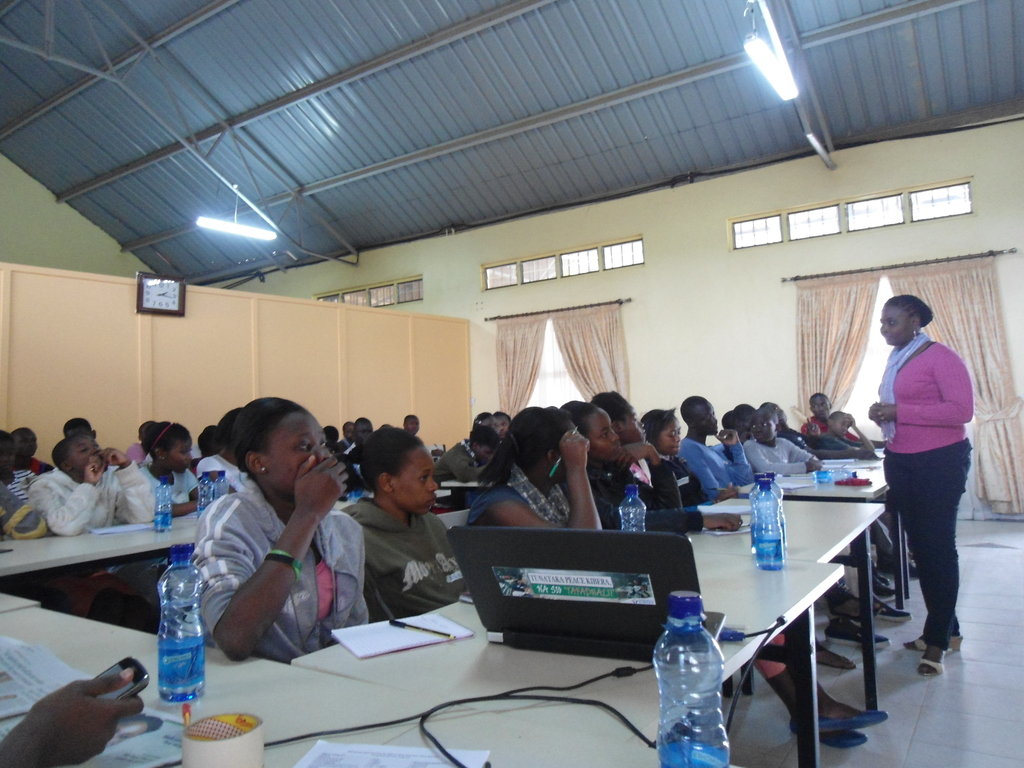 Financial Management training session