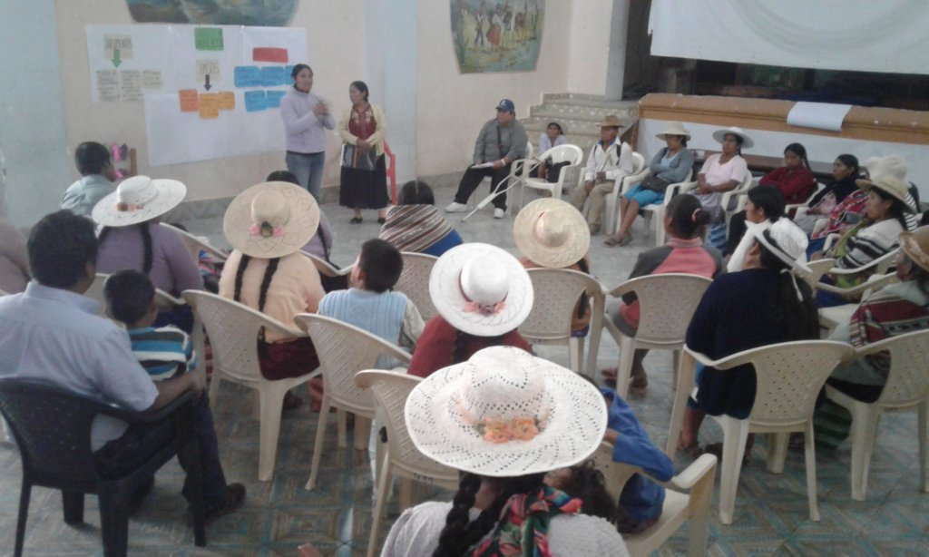 People with disability in a capacitation