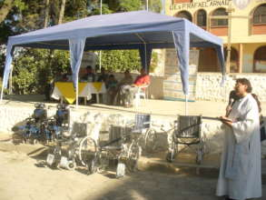 Technical Aid to 25 Cochabambinos w Disabilities
