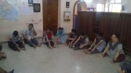 A session in progress at RASA.