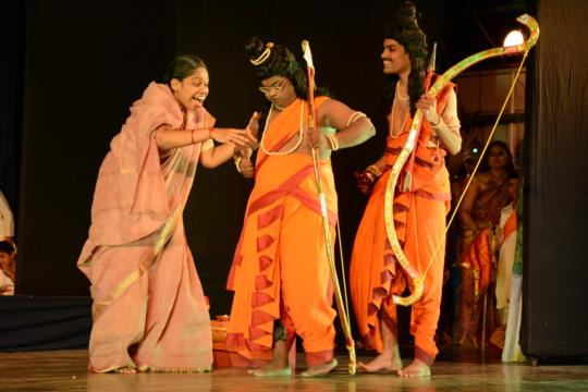 Ramayana in progress