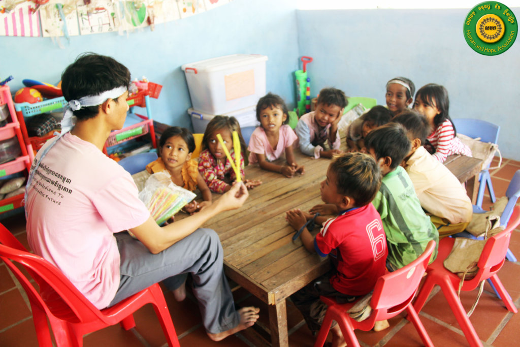Provide Preschool Class to 10 Kids in Cambodia