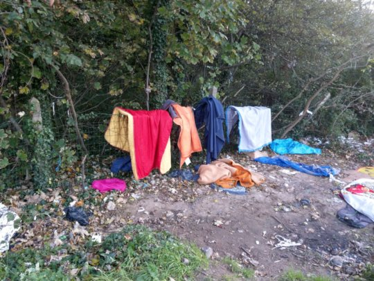 Documenting the situation for refugees in Calais