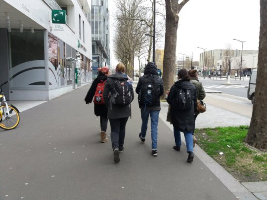 Researchers in action in Paris