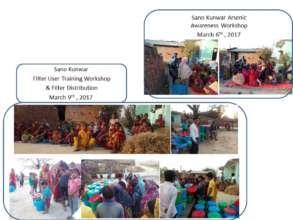 Sano Kunwar Arsenic Awareness & Filter  Wks
