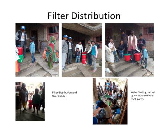 Filter Distribution