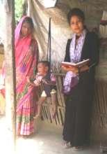 Weighing Baby in SKunwar