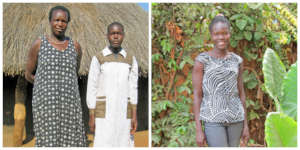 Gladys Before and After Being Sponsored