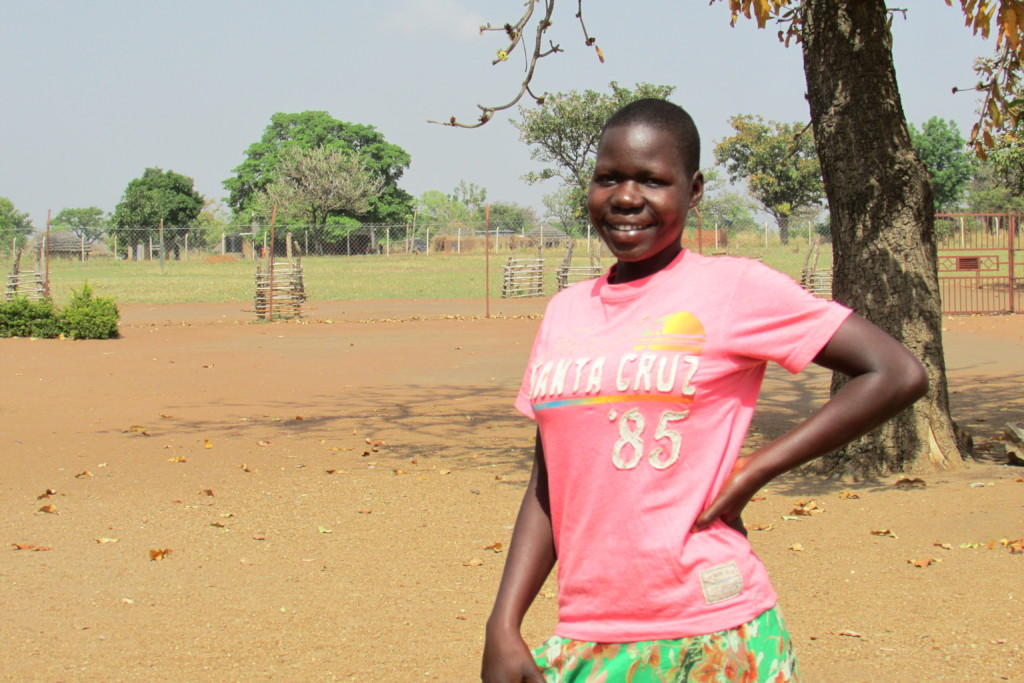 Sponsorship Program Helps Jully continue in school