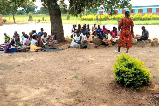 Meeting with 58 Uganda Girls in mid-July