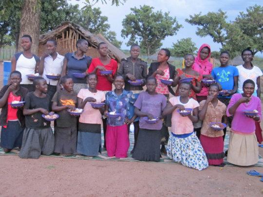 6th grade Agwata girls hoping to continue school