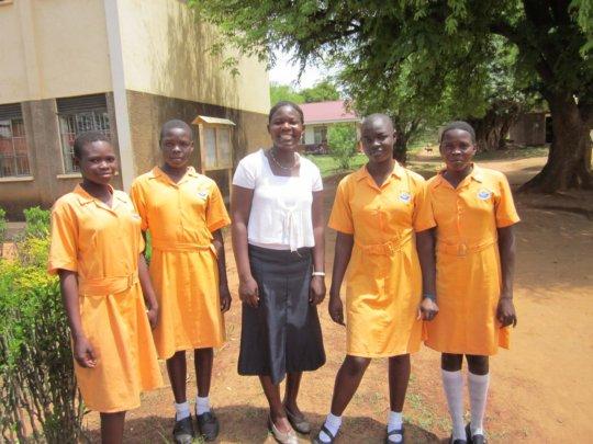 Sponsored Secondary Students in Northern Uganda