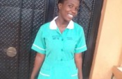 Help Sharon Complete Nursing Course in Uganda