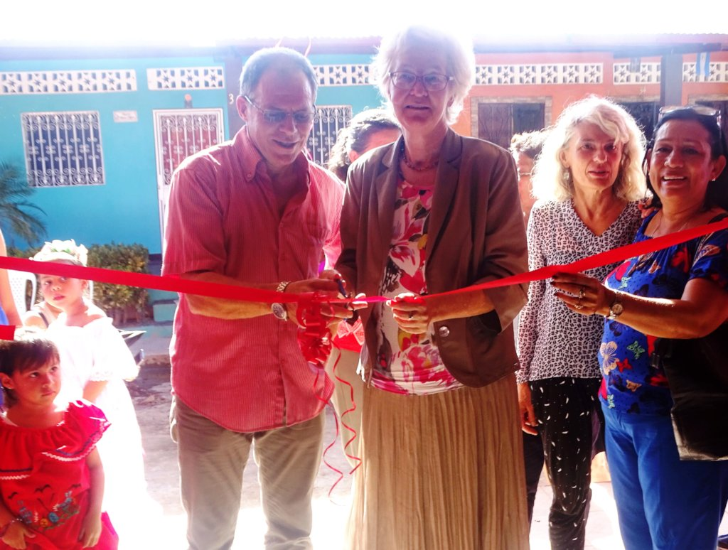 Grand Opening with German Ambassador Ute Konig